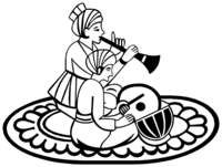 Black & White clipart indian wedding Indian+Groom Rukhwat Hindu Symbol
