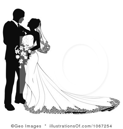 Wedding clipart couple Clipart – Wedding Couple Clipart