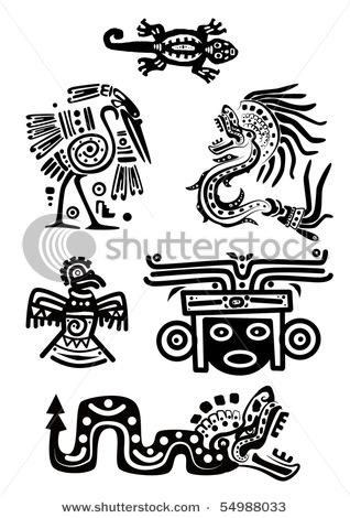 Indian clipart maya Google tatoo tattoo mayan deuses