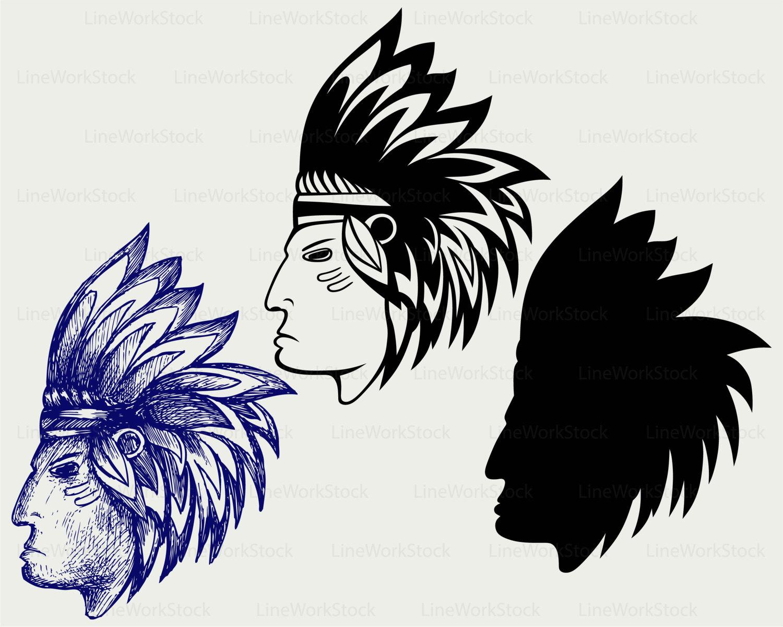 Indian clipart maya Clipart Maya Maya silhouette American