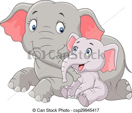 Indian clipart mother & baby Vector baby Art & cute