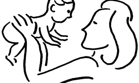 Indian clipart mother & baby Clipart And Mother And clipartsgram