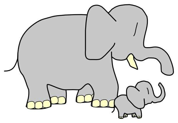 Indian clipart mother & baby And clipart Animals animals Mother