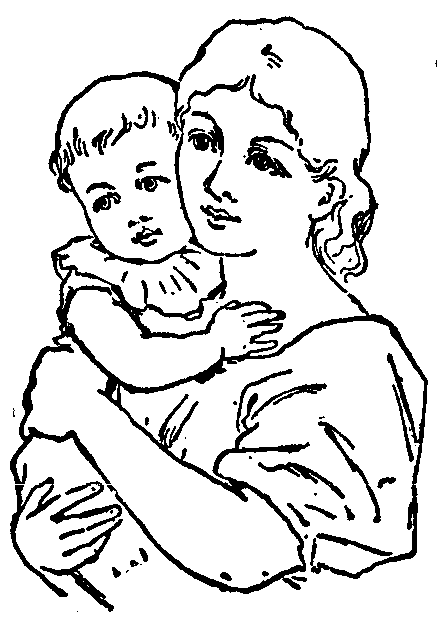 Indian clipart mother and child Indian Baby Free Clipart Mother