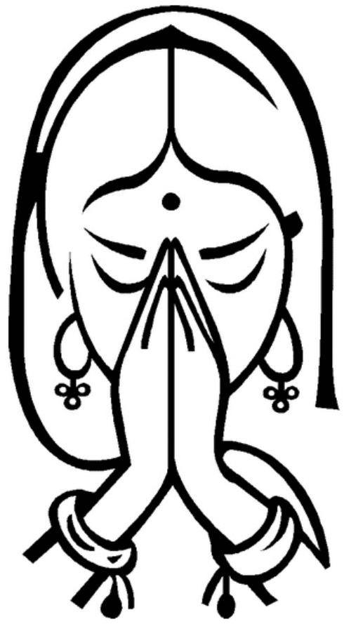 Indian clipart namaste This in which is but