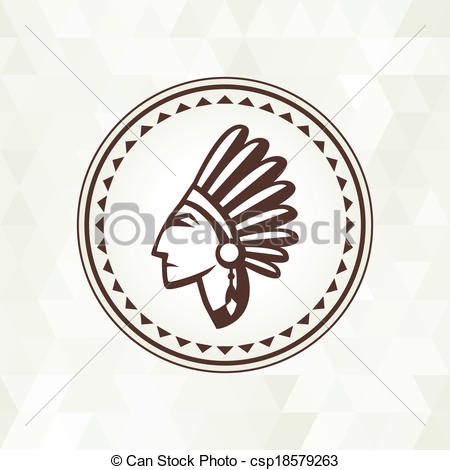 Indian clipart navajo Ethnic Art indian indian with
