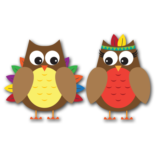 Owl clipart pilgrim By to Thanksgiving design PDClipart