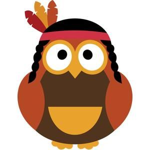 Indian clipart owl View best 275 thanksgiving Clip