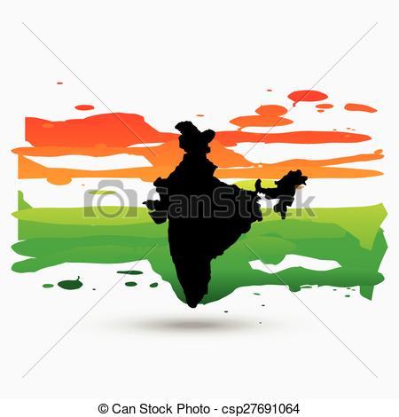 Indian clipart patriotism Of Vector vector Vector