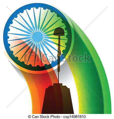Indian clipart patriotism Of  Vector indian Art