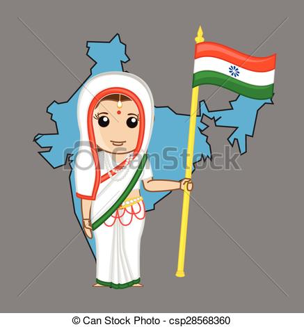 Indian clipart patriotism India Clip a Indian Indian