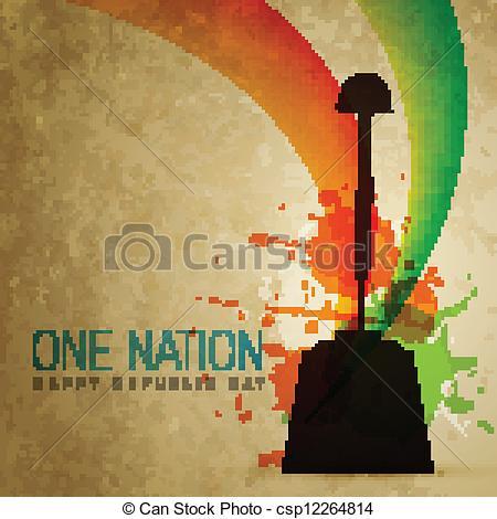 Indian clipart patriotism Of  Vector vector Art