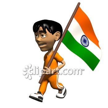Indian clipart patriotism Person walking holding Keywords: School