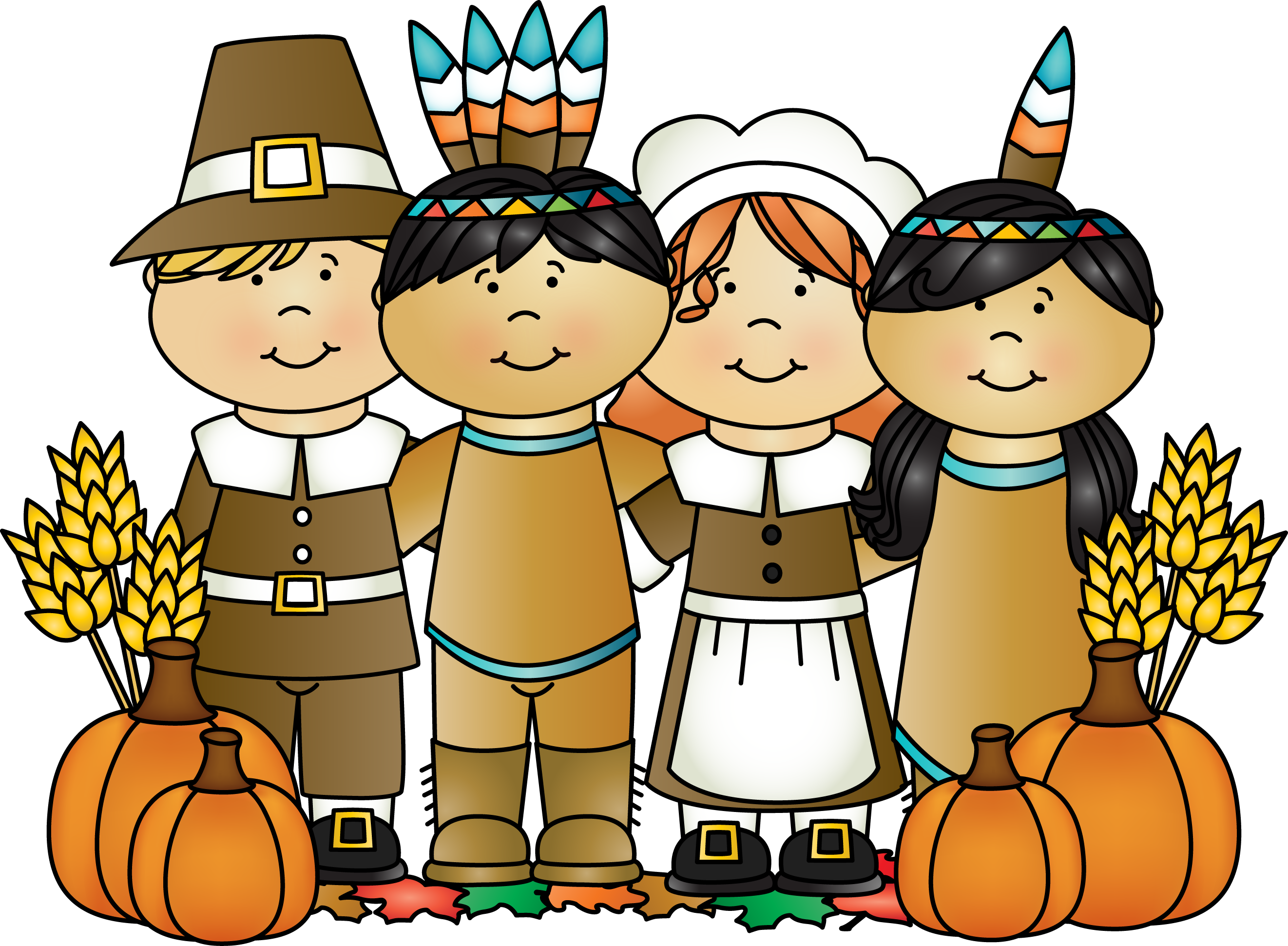 Indians clipart happy Clipart Clipart Clipart Pilgrim clipart