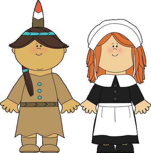 Native American clipart pilgrims Thanksgiving Pinterest Pin Girl Thanksgiving