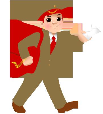 Indian clipart postman Post General app Office Gurgaon