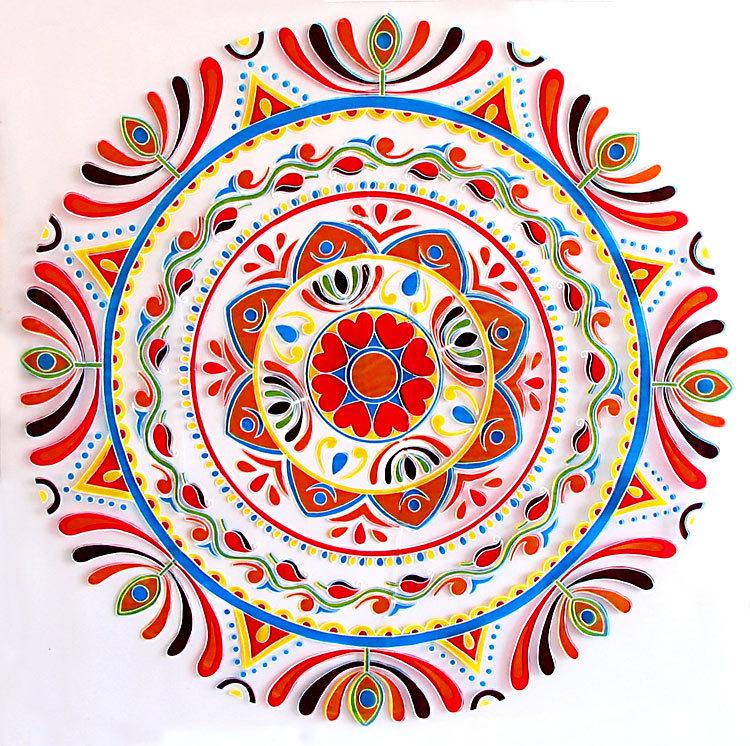 Indian clipart rangoli  Indian Art Art Indian