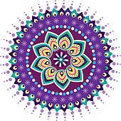 Indian clipart rangoli Indian GoGraph · Free pattern