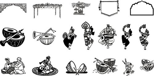 Indian clipart reception Art Reception wedding Clip Indian