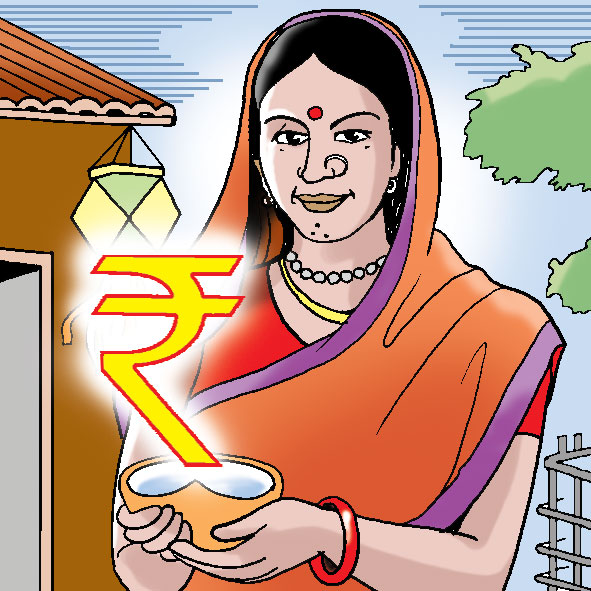 Indian clipart rural woman Financial and empowerment women inclusion