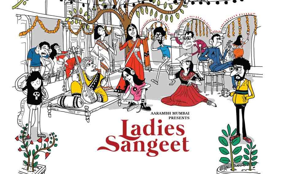 Indian clipart sangeet Ladies Theatre  Sangeet review:
