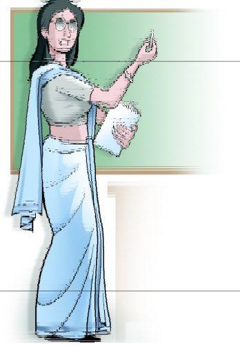 Indian clipart school teacher Indian school Cliparts clipart Cliparts