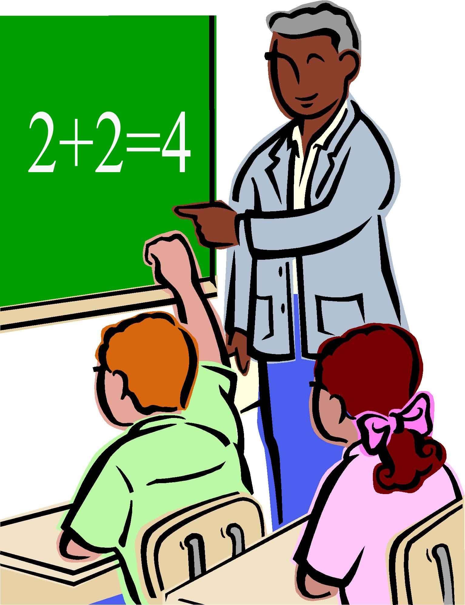 Indian clipart school teacher Clipart clipart math collection for