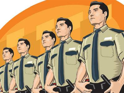 Indian clipart security guard Cliparts Security officer officer Vectors