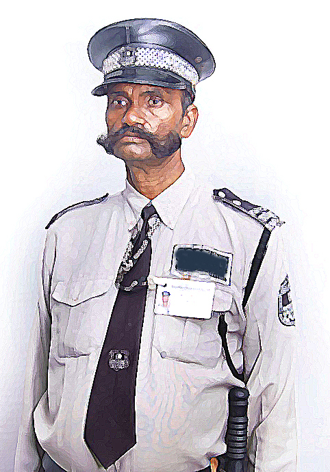 Indian clipart security guard Cliparts Indian security gun Zone