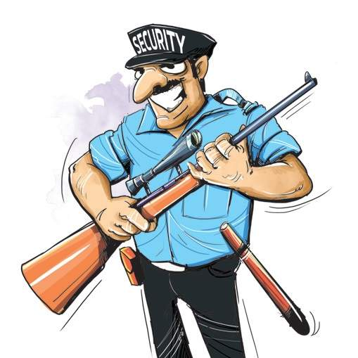 Indian clipart security guard Hour Vetting Guard of Clipart