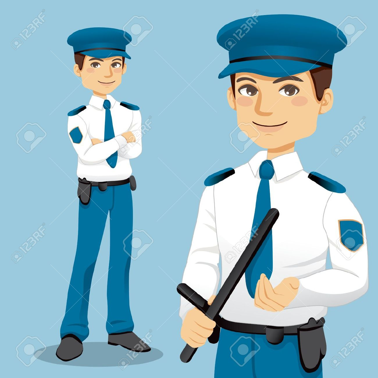 Woman clipart security guard Clip Download guard Free
