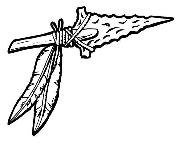 Native American clipart spear Clipart Indian Spear Art Cliparts