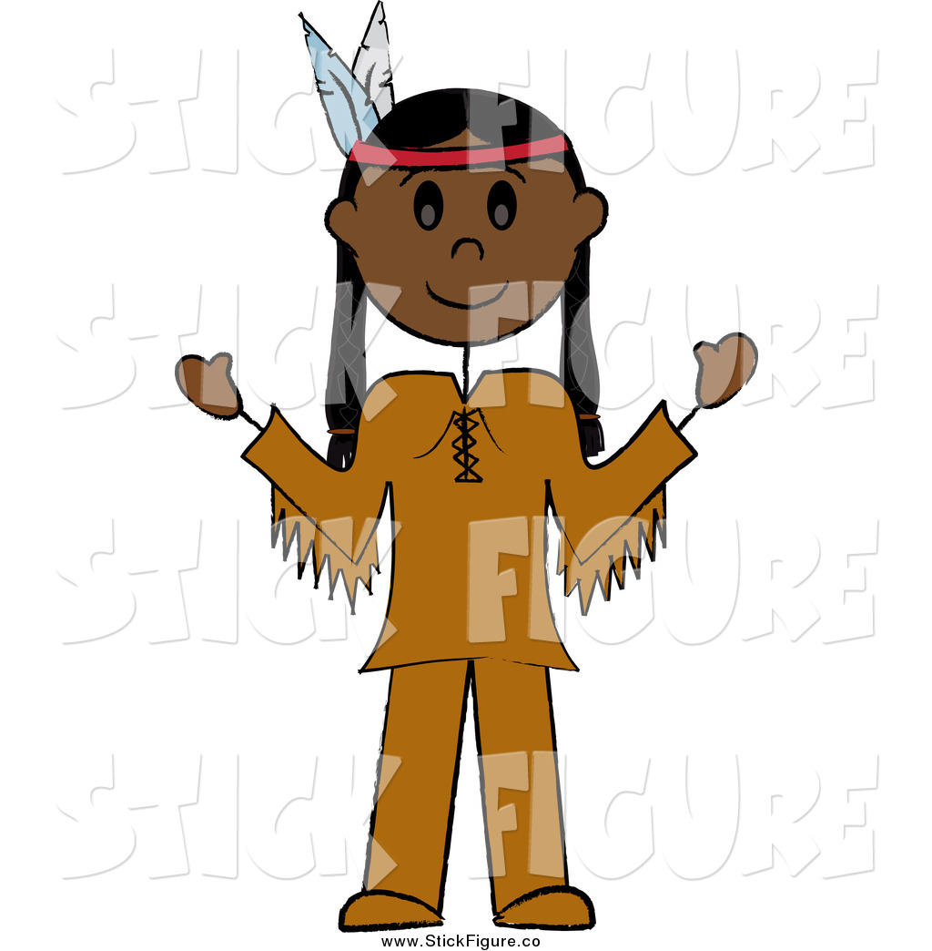 Indian clipart thanksgiving Person Art Man Thanksgiving American