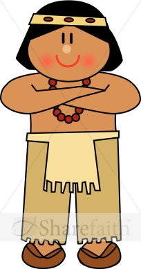 Indian clipart thanksgiving Cute American Native Thanksgiving