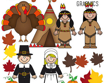 Indian clipart thanksgiving Teepee November Clip American Pumpkin