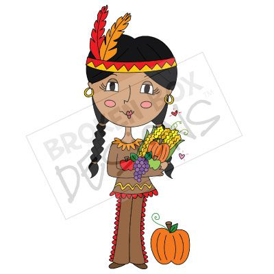 Indian clipart thanksgiving Clip Indian Indian Art Toodle