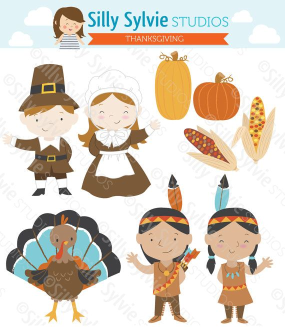 Native American clipart harvest Corn about Fall Thanksgiving Clip