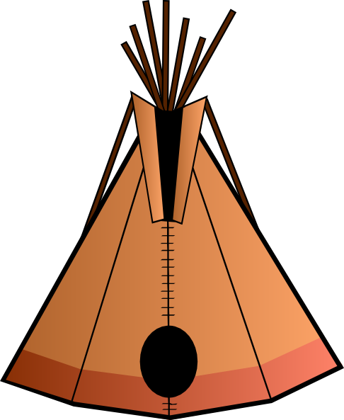 Indians clipart tipi As: com this Clker online