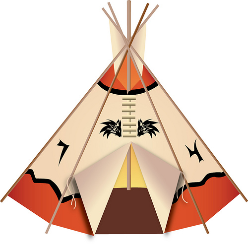 Tent clipart indian house Indian Gallery art Image teepee