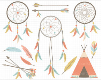 Indian clipart tribal Clipart / Download) (Instant