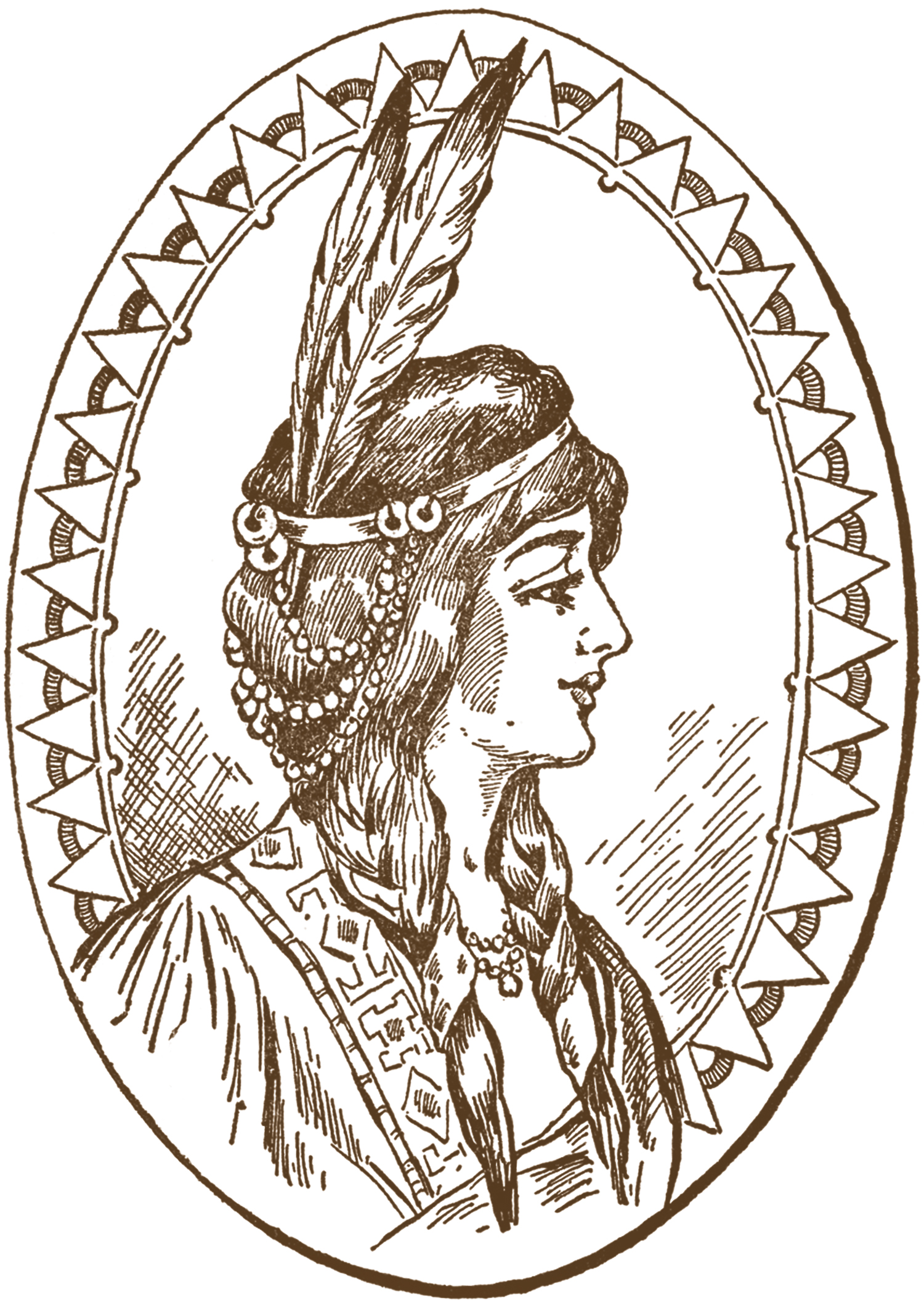 Native American clipart person sewing Woman Art Woman American Art