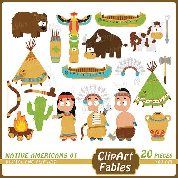 Indian clipart western Western Cute design digital sweet