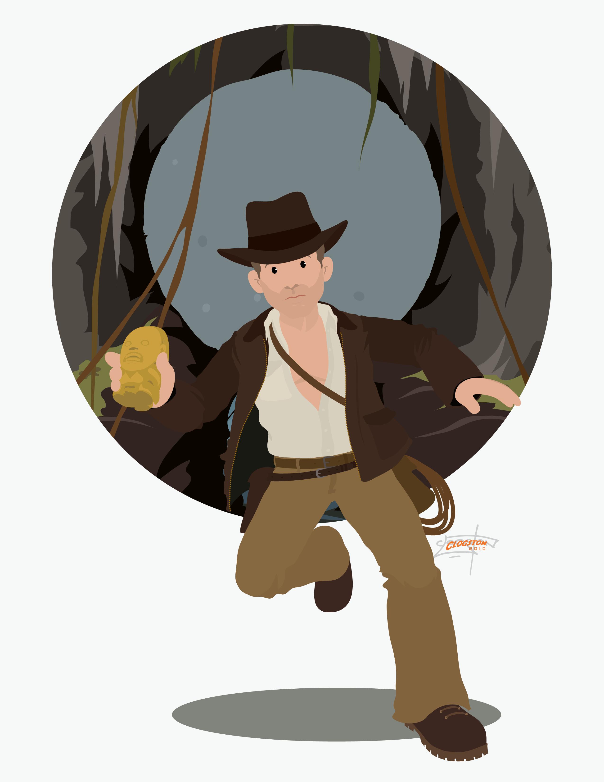 Indiana Jones clipart cartoon Art Indiana Indiana Clip Jones