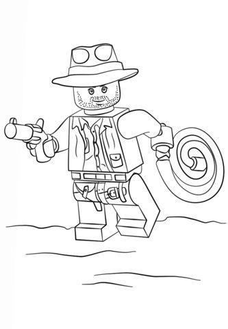 Indiana Jones clipart lego minifigure Jones  Lego indiana Indiana