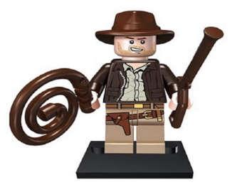 Indiana Jones clipart lego minifigure Indiana with Jones Marvel Minifigure