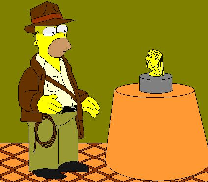 Indiana Jones clipart simpsons More SFUHS  Reads remakes