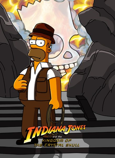 Indiana Jones clipart simpsons Pinterest this more Fan Art
