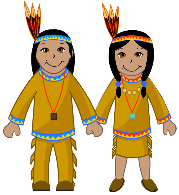 Native American clipart cute (87+) ClipartALL & Group Indians
