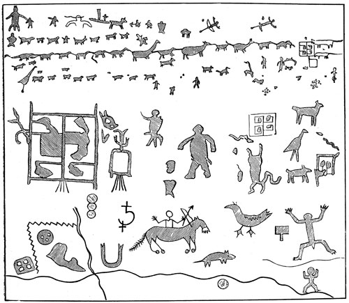 Indians clipart anasazi Indians: Inscriptions Rock Anasazi Indians