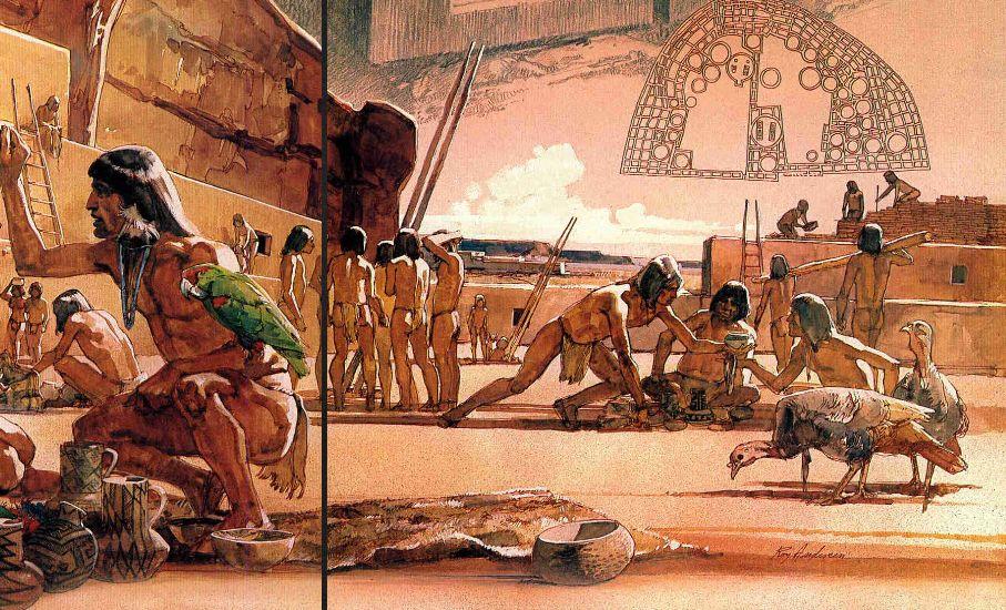 Indians clipart anasazi Mex/Ame Anasazi People People Pueblo